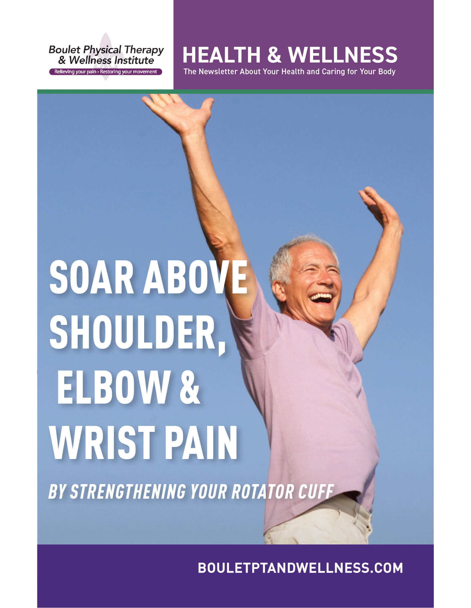 Soar Above Shoulder, Elbow & Wrist Pain
