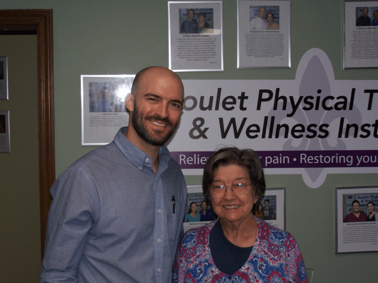 Patient Testimonials Boulet Physical Therapy Amp Wellness